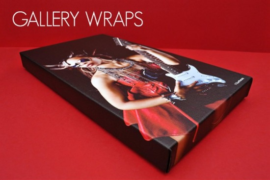 "Canvas Gallery Wraps 1.5"" Depth"